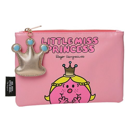 Mr Men and Little Miss Little Miss Princess Travel Pouch Toiletry Bag Purse